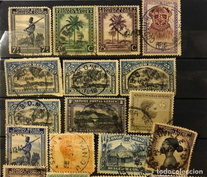 Sellos: LOTE DE 114 SELLOS DEL CONGO BELGA. - Foto 9 - 178093559
