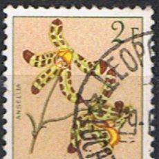 Sellos: (COB 4) SELLO CONGO BELGA // YVERT 313 // FLOR: ANSELLA // 1952. Lote 180269832