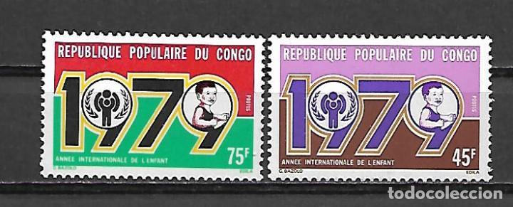 SERIE DE CONGO NUEVA PERFECTA Nº 540/41 (Sellos - Extranjero - África - Congo)