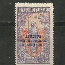 Selos: CONGO COLONIA FRANCESA YVERT NUM. 83 * NUEVO CON FIJASELLOS. Lote 191040136