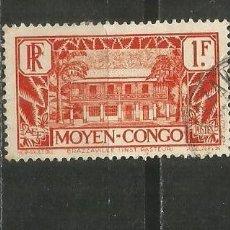 Timbres: CONGO COLONIA FRANCESA YVERT NUM. 128 USADO. Lote 191040505