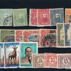 Sellos: CONGO BELGA. CONJUNTO DE 24 SELLOS NUEVOS . Lote 191677928