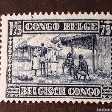 Timbres: CONGO BELGA, YVERT 155*. Lote 194139206