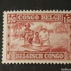 Timbres: CONGO BELGA, YVERT 156*. Lote 194139248
