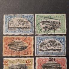Sellos: CONGO BELGA, YVERT TASAS 34 41 42 44 55 Y 60. Lote 194173367