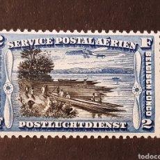 Sellos: CONGO BELGA, YVERT AÉREO 3*. Lote 194173577