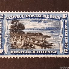 Sellos: CONGO BELGA, YVERT AÉREO 3* BARCOS. Lote 194173588