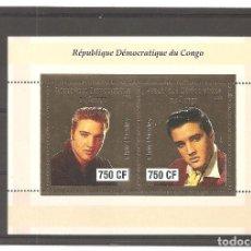 Sellos: REPUBLICA DEMOCRATICA DEL CONGO. ELVIS PRESLEY***. Lote 201131645