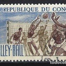 Francobolli: REP. DEL CONGO 1966 - DEPORTES - SELLO USADO. Lote 206262497