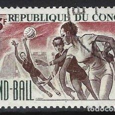 Francobolli: REP. DEL CONGO 1966 - DEPORTES - SELLO USADO. Lote 206262701