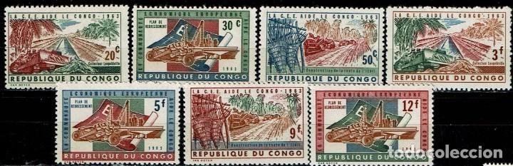 REP.DEMOCRATICA DEL CONGO 1963 - AYUDA EUROPEA (**) (Sellos - Extranjero - África - Congo)