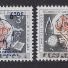 Sellos: KASAI DEL SUR / SUD KASAI (CONGO ZAIRE) 1961 - MICHEL 18-19 COB 16-17 ELEFANTE TIGRE MNH. Lote 219366423