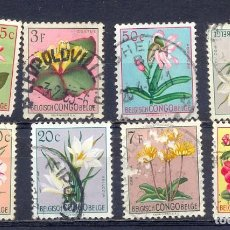 Sellos: CONGO BELGA, FLORES. Lote 219715898