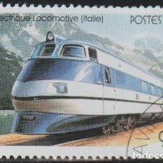 Sellos: CONGO 1999 SCOTT 1684 SELLO * TRANSPORTE TRENES LOCOMOTORA ELECTRICA ITALIANA MICHEL 1684 STAMPS. Lote 220758367