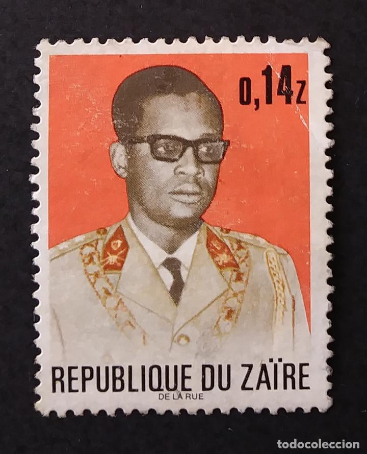 1973 REPÚBLICA DEMOCRÁTICA DEL CONGO (ZAIRE) PRESIDENTE MOBUTU (Sellos - Extranjero - África - Congo)