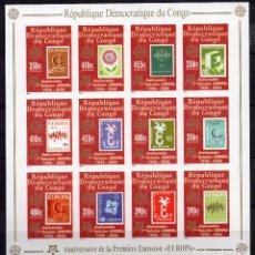 Sellos: CONGO REP DEMOCRATICA , 2005, MINI HOJAS . MICHEL ,1831B-1842BKB. Lote 231353810