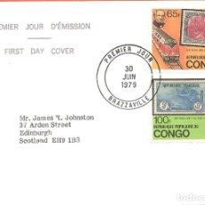 Sellos: SPD -FDC, CONGO, 1979, CENTENARIO ROWLAND HILL. Lote 234936965