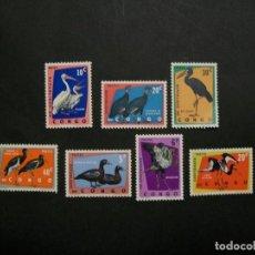 Sellos: CONGO-1963-PROTECCION DE LA NATURALEZA-PAJAROS-SELLOS EN NUEVO(**MNH). Lote 235397265