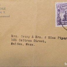Sellos: O) 1931 CONGO BELGA, INSTRUMENTOS MUSICALES - MÚSICOS DEL LAGO LEOPOLD II, A EE. UU.. Lote 235570290