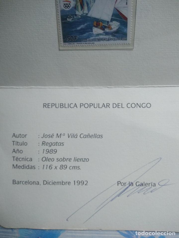 Sellos: Sello republica popular del congo con su certificado de autenticidad - Foto 3 - 244689880