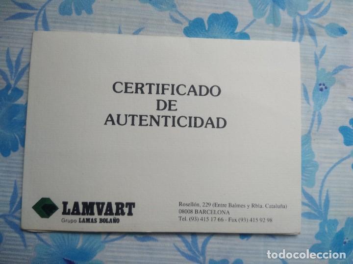Sellos: Sello republica popular del congo con su certificado de autenticidad - Foto 6 - 244689880