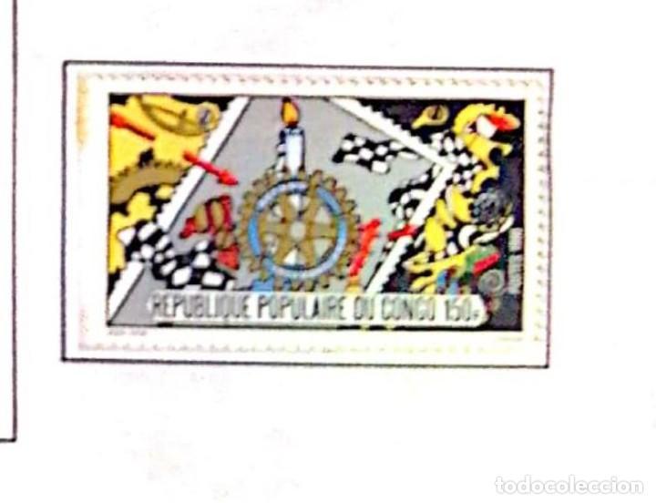 O) 1980 CONGO, ROTARY INTERNATIONAL, SCT 522 (Sellos - Extranjero - África - Congo)