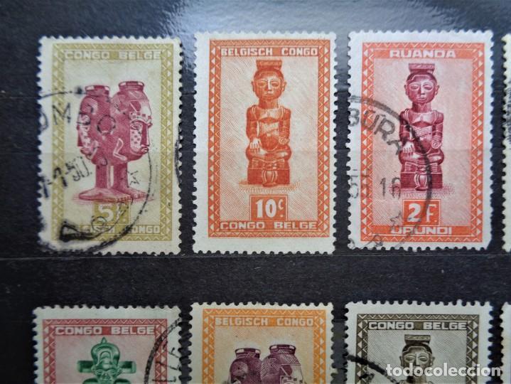 Sellos: Congo belga - Foto 3 - 254090945