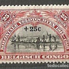 Timbres: CONGO BELGISCH - CONGO BELGA - 1 SELLO NUEVO - KOLONIALE VELDTOCHTEN 1914-1918. Lote 254313015