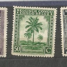 Timbres: CONGO BELGISCH - CONGO BELGA - 3 SELLOS NUEVO -. Lote 254314130