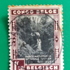 Sellos: SELLO VIÑETA. CONGO BELGA 1941. USADO. SIN FIJASELLOS. Lote 260698110