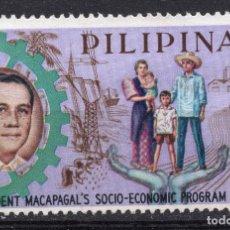 Sellos: FILIPINAS , 1963 , STAMP , , MICHEL 737. Lote 262368215