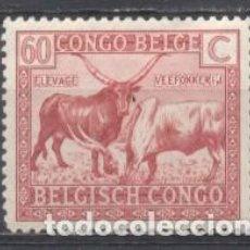 Francobolli: CONGO BELGA, NUEVOS. Lote 263588340