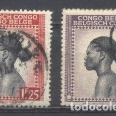 Sellos: CONGO BELGA, USADOS. Lote 263588640