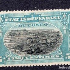 Francobolli: CONGO BELGA ( CONGO INDEPENDIENTE ) , 1894 , STAMP , MICHEL 14. Lote 265533264