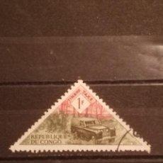 Timbres: SELLO R . DEL CONGO - TRIÁNGULO 5. Lote 274032188