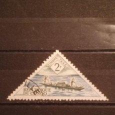 Timbres: SELLO R . DEL CONGO - TRIÁNGULO 5. Lote 274032243