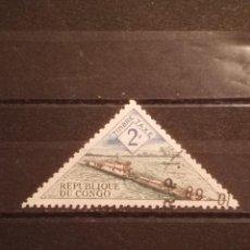 Timbres: SELLO R . DEL CONGO - TRIÁNGULO 5. Lote 274032268