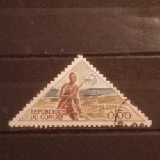 Timbres: SELLO R . DEL CONGO - TRIÁNGULO 5. Lote 274032328