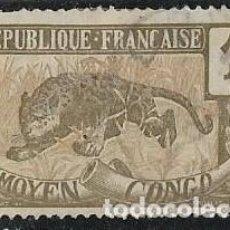 Sellos: CONGO YVERT 48, FAUNA. Lote 277060448