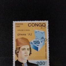 Sellos: SELLO CONGO- PERSONAJES - GBSS. Lote 277091713