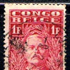 Sellos: CONGO BELGA // YVERT 141 // 1928 ... USADO. Lote 277642368