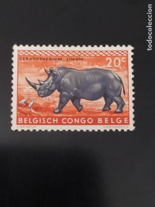 ## CONGO BELGA NUEVO 1959 20C## (Sellos - Extranjero - África - Congo)
