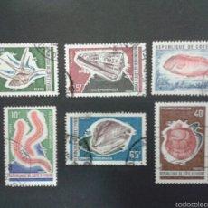 Sellos: SELLOS DE COSTA DE MARFIL. FAUNA. YVERT 324/28. SERIE COMPLETA USADA.. Lote 53262643