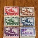 Sellos: GUINEA FRANCESA: SELLOS AÉREOS COSTA DE MARFIL AÑO 1942,MNH. Lote 161131074