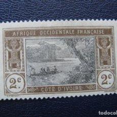 Sellos: COSTA DE MARFIL, 1913 YVERT 42. Lote 163725726