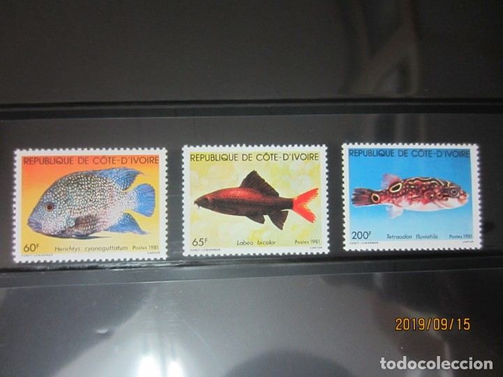 COSTA DE MARFIL 1981 - 3 V. NUEVO (Sellos - Extranjero - África - Costa de Marfil)