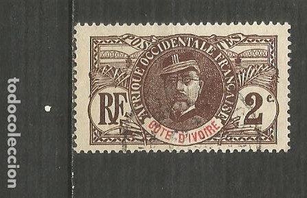 COSTA DE MARFIL COLONIA FRANCESA YVERT NUM. 22 USADO (Sellos - Extranjero - África - Costa de Marfil)