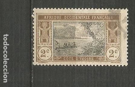 COSTA DE MARFIL COLONIA FRANCESA YVERT NUM. 42 USADO (Sellos - Extranjero - África - Costa de Marfil)