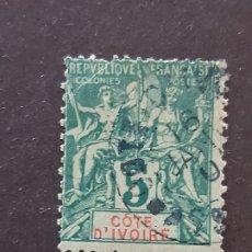 Sellos: COSTA DE MARFIL, YVERT 4, 1892-99. Lote 194100937