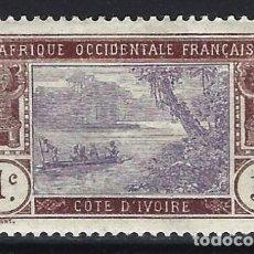 Sellos: COSTA DE MARFIL 1913 - LAGUNA DE EBRIÉ - SELLO NUEVO C/F*. Lote 206199350